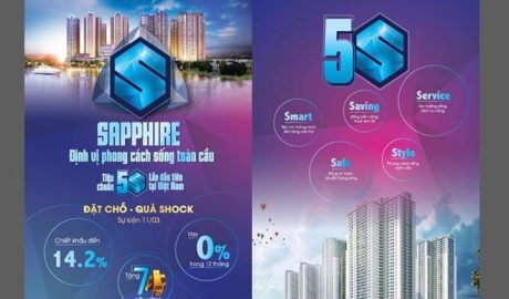 Sapphire - Goldmark City